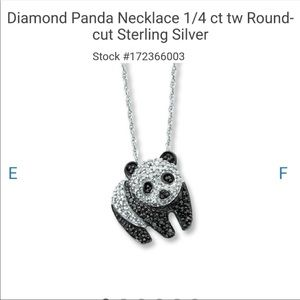 Panda 🐼 Diamond Necklace 🐼
